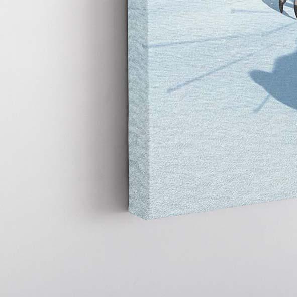 Buz Devri Temalı Kanvas Tablo-Y379
