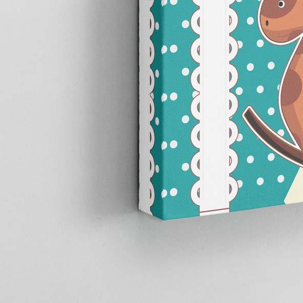 Çocuk-Figürleri Temalı Kanvas Tablo-k018