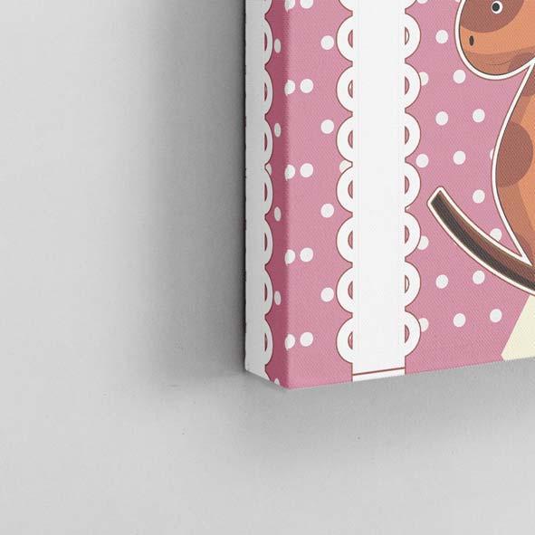 Çocuk Figürleri Temalı Kanvas Tablo-K019