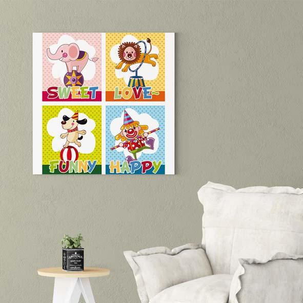 Çocuk Odasına Uygun Kanvas Tablo-k118