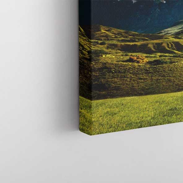 Dağ Manzarası Kanvas Tablo-y144