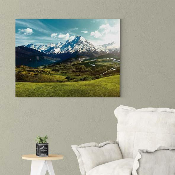 Dağ Manzarası Kanvas Tablo-y580