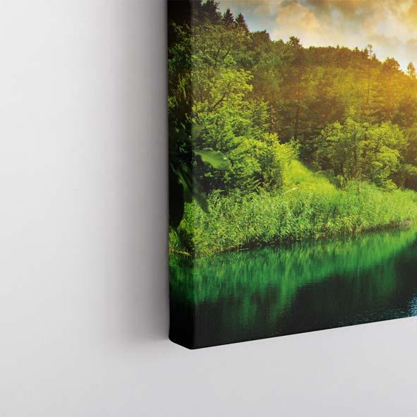 Doğa Manzaralı Kanvas Tablo-Y024