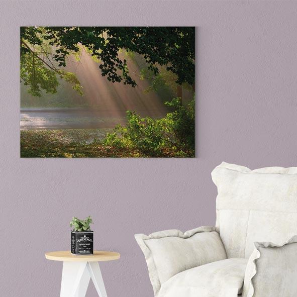 Güneş Işığı Temalı Kanvas Tablo-Y18