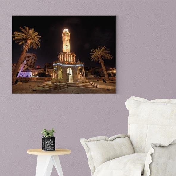İzmir Saat Kulesi Kanvas Tablo-Y487