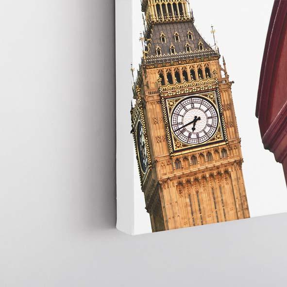 Londra Şehir Temalı Kanvas Tablo-Y531