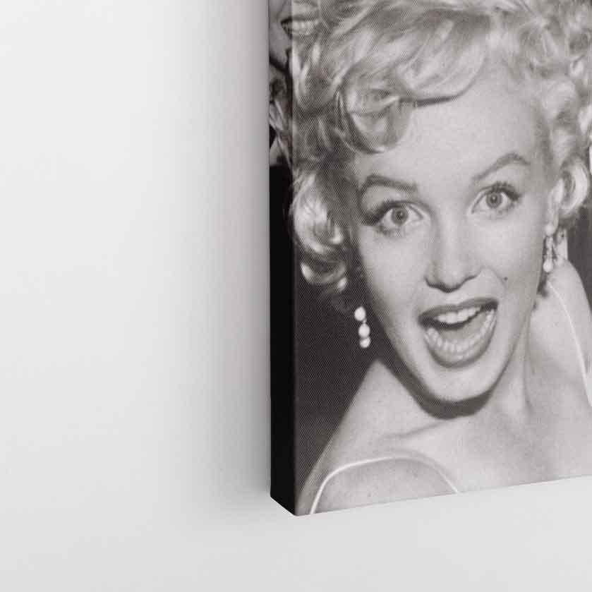 Marilyn Monroe Temalı Kanvas Tablo