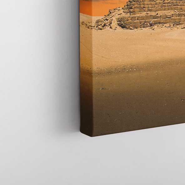 Mısır Piramidi Kanvas Tablo-y511