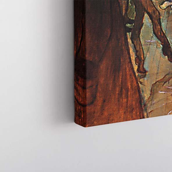 Moulinde Dans Temalı Kanvas Tablo-Y348