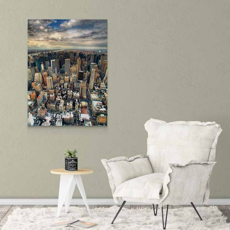 New York Şehir Manzarası Kanvas Tablo-D115