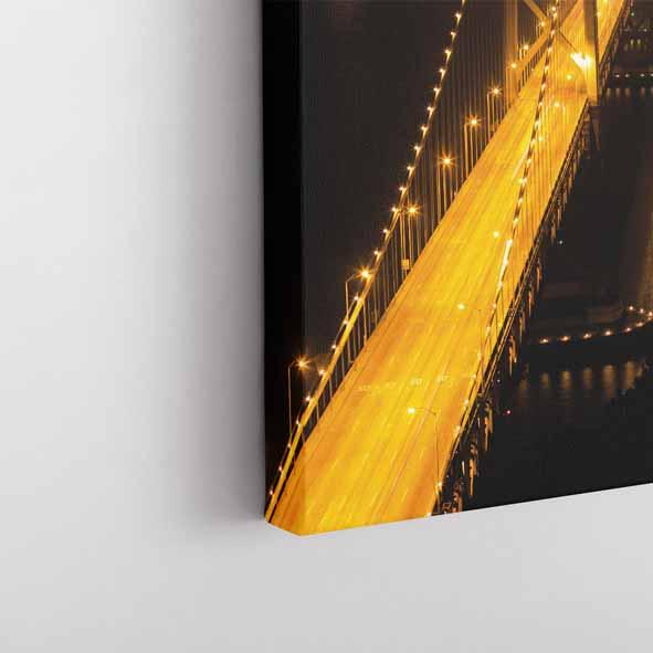 Oakland Köprüsü Temalı Kanvas Tablo-Y231