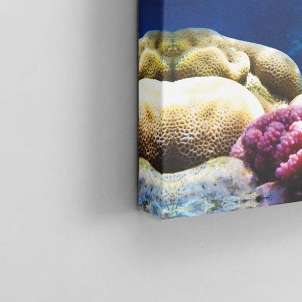Okyanus Temalı Kanvas Tablo-K015