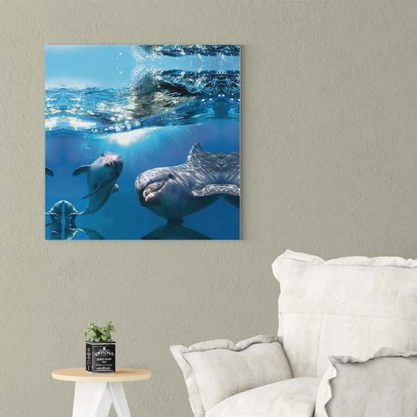 Okyanus Temalı Kanvas Tablo-K017