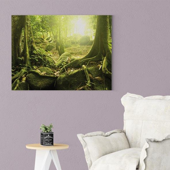 Orman Temalı Kanvas Tablo-Y054