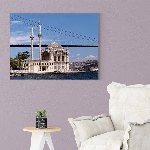 Ortaköy Camii Manzarası Kanvas Tablo-Y248