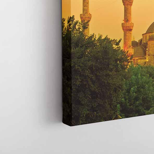 Sultan Ahmet Camii temalı Kanvas Tablo-Y147