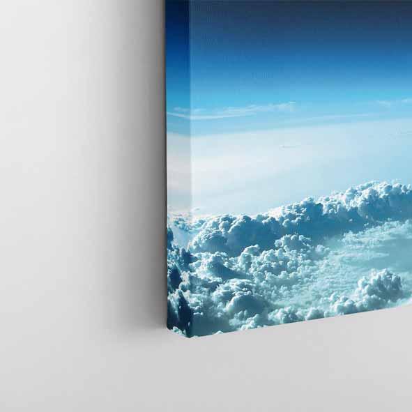 Uzay Temalı Kanvas Tablo-Y152