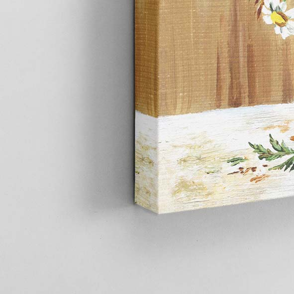 Vazoda Çiçekler Temalı Kanvas Tablo-K011