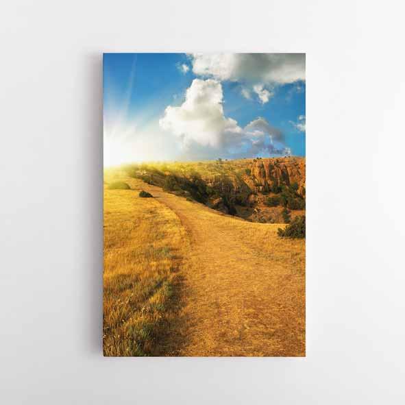 Doğa Manzaralı Kanvas Tablo - D045